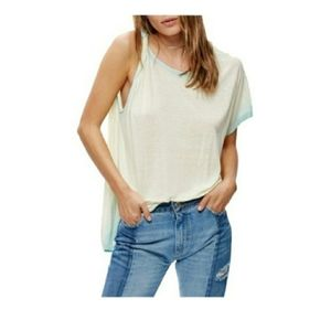 Free people Pluto one shoulder shirt S